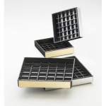 Cal-Mil 391-010 Silver Trim Drip Trays