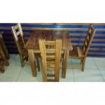 Beqa dining table. 800x800x760 -  Raintree