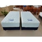 1930x2032x280mm Hotel Deluxe Split King Mattress ★★★★★ + Commercial split base. Upholstered - 1/Case