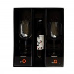 Gift Box, 2 Glasses Bordeaux Wine Glass 650 ml - 1/Case