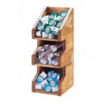 Cal-Mil 2053-99 Madera Condiment Organizers (6Wx7Dx16H)
