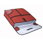 """24"""" x 24"""" x 5"""" Pizza Delivery Bag - 6/Case"""
