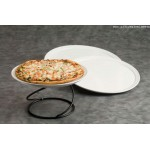 Pizza Tray, Ceramic, 14 Dia. 14 Dia. - 4/Case