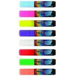 "Deluxe Plus Neon Marker, 0.4475"" Parallel Point, Yellow Neon"