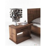 Part of Contemporary king size bed set - Side tables x2. Raintree