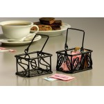 "5""x3"" Basket, Wrought Iron, Black - 96/Case"