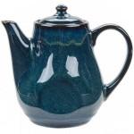 Artisan Night Sky 17 oz. China Tea Pot with Lid