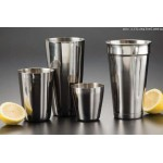 COCKTAIL SHAKER, STAINLESS STEEL, SHORT SHAKER, 16 OZ.