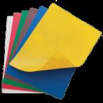 "12"" x 18"" Flexible Cutting Mats, 6 Colors/Set - 12/Case"