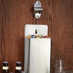 "3.9"" Wall Bottle Opener, S/S, Silver - 240/Case"