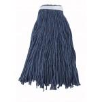 32 Oz. 800g, Mop Head, Cut Head, Blue Yarn - 20/Case