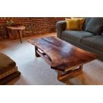 Slab Coffee table. Raintree - 1400x700 H450,