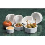 Ramekin, Ceramic, Ceramekin™, 3 Oz. 3-1/4 Dia.x1-1/2 H - 24/Case
