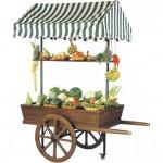 Custom design market display trolley