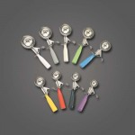 4 Oz. Thumb Disher, S/S, Silver/Grey - 60/Case