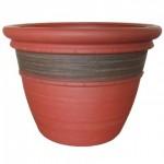 "16"" Planter, Cordoba Red Clay - 5/Case"