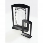 Cal-Mil 654 Classic Acrylic Arched Cardholder (4Wx6H)