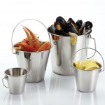 Stainless Steel Pail, 2 Qt  - 24/Case