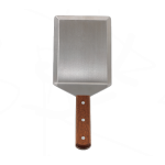 """5"""" x 6"""" Extra Heavy Turner W/Cutting Edge, Wooden Hdl, Blade - 12/Case"""