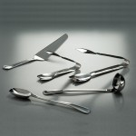 """6"""" Tongs, S/S, Silver - 120/Case"""
