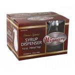 14 Oz Glass Syrup Dispenser, 4 Pieces per box