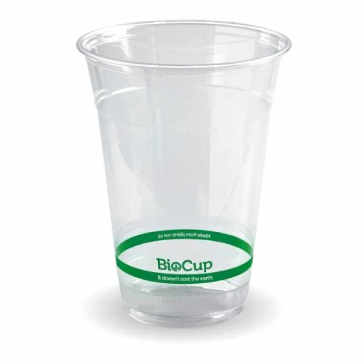 16 Oz. Clear Cold Cup, Eco-Friendly, PLA - 100/Case