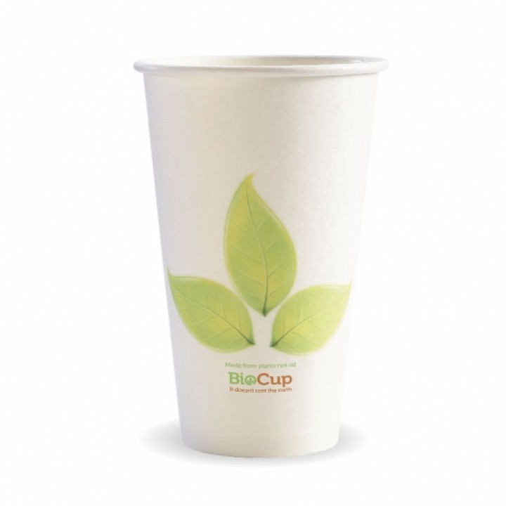 16 Oz. Hot Cup, Eco-Friendly - 100/Case
