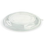 24 & 32 Oz. Salad Bowl Lid, Clear, Eco-Friendly, PLA - 50/Case