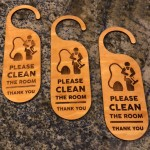 Do Not Disturb Sign - 1/Case