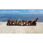 Reserve sign, PLY
