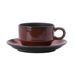 15cm Coupe Saucer, Rustic Collection, Crimsone - 24/Case