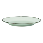 17cm Plate, Tin Tin, New Bone Green - 24/Case