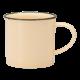 350ml Mug, Tin Tin, New Bone Yellow - 36/Case