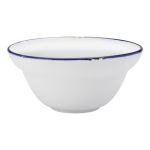 15cm Bowl, Tin Tin, New Bone Royal Blue - 24/Case