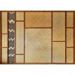 Wall Panels. Mahogany, Tapa, Bamboo. 3600х2400х100 mm