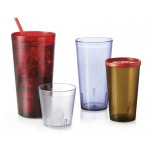 5 oz. Tumbler, Red, SAN  - 72/Case