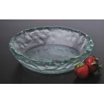 8'' Glass Bowl, Jade, Glass  - 1/Case