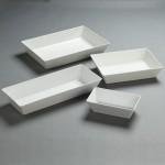 White Melamine Bowls - 12/Case