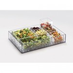 Cal-Mil 1391-LID Salad Bar Accessories (10Wx10D)