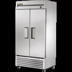 636 Ltr Upright Freezer, 2 Full Solid Door - 1/Case