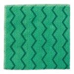 Microfiber General-Purpose Cloth (Green, Red, or Blue) - 12/Case