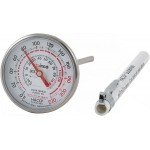 "5"" Probe Instant Read Thermometer, 1.75"" Dial - 12/Case"