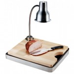Cal-Mil 3037-55 Stainless Steel Carving Station (Lamp not included) - 1/Case
