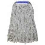 32 Oz. 800g, Mop Head, Cut Head, White Yarn - 20/Case