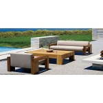 Ratu outdoor set. Love seat. Mahogany.