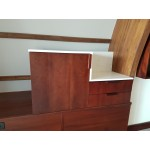 Mini bar unit. Marriott design. PLY