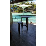 Breeze round bar table and stool. Vesi. Table D700xH1100. Stool D350xH750. Table