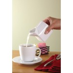 5 Oz. Milk Carton Creamer, Ceramic, White - 72/Case