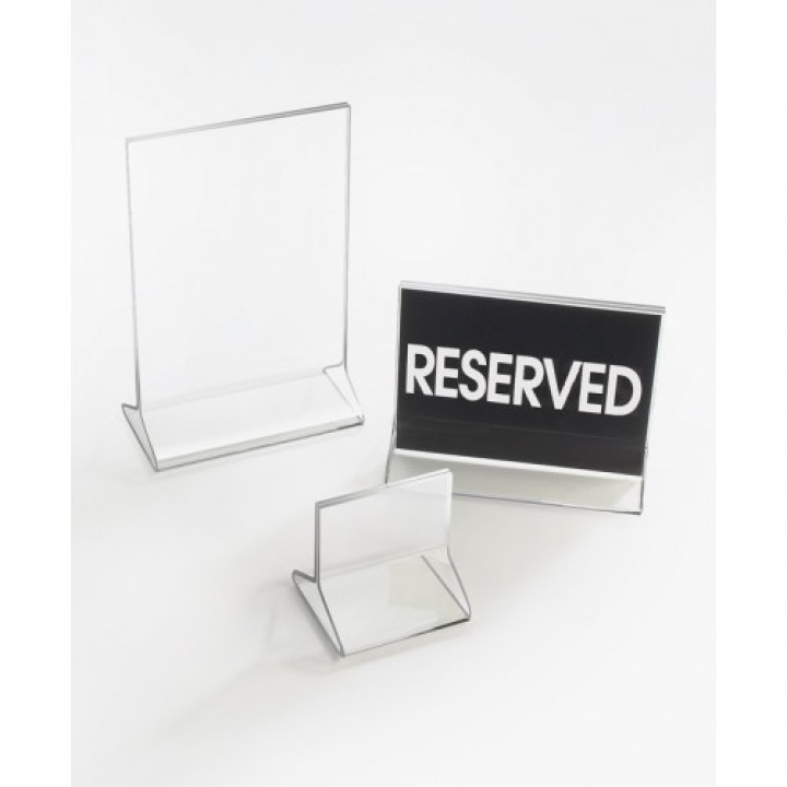 Cal-Mil 591 Classic Standard Tabletop Cardholder (4Wx8H)