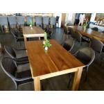 Beqa dining table. 1500x800x760 -  Raintree